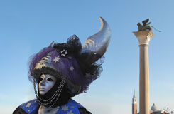 Traditional Venetian Carnival 2011. Stock Photography
