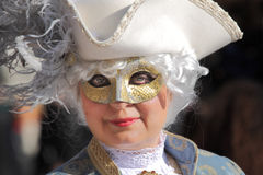 Traditional Venetian Carnival 2011. Royalty Free Stock Photos