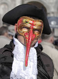 Traditional Venetian Carnival 2011. Stock Image