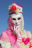 Traditional Venetian Carnival 2011. Stock Photos