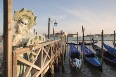 Traditional Venetian Carnival 2011. Royalty Free Stock Images