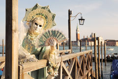Traditional Venetian Carnival 2011. Stock Images