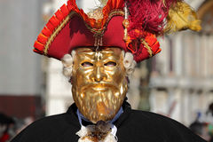Traditional Venetian Carnival 2011. Royalty Free Stock Photography