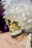 Traditional venetian carnival mask Stock Photos