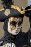 Traditional venetian carnival mask Royalty Free Stock Image