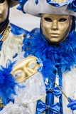 Traditional venetian carnival mask Royalty Free Stock Photos