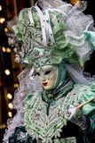 Traditional venetian carnival mask Stock Image