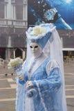 Traditional Venetian carnival mask Stock Photography