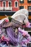 Traditional Venetian carnival mask Stock Photo