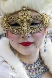 Traditional venetian carnival mask Stock Photo