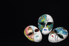 Traditional venetian carnival masks Stock Photo