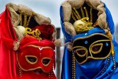 Traditional Venetian carnival masks Royalty Free Stock Photo