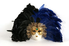 Traditional Venetian (Italian) carnival mask Royalty Free Stock Photo