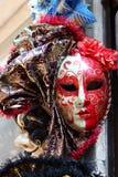 Traditional Venetian mask stock photos