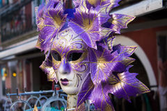 Traditional Venetian mask Stock Photo