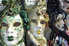 Traditional venetian masks Royalty Free Stock Image