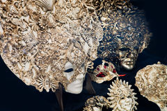 Traditional Venetian masks. Venice, Italy Stock Photos