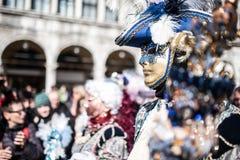 Traditional Venice carnival 2017 Royalty Free Stock Photos