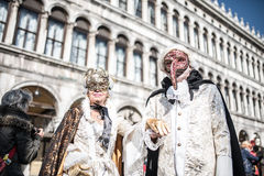 Traditional Venice carnival 2017 Royalty Free Stock Photo