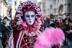 Traditional Venice carnival 2017 Stock Image