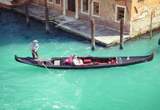 Traditional Venice gondola, Italy Stock Photography