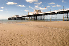 Traditional victorian british pier Royalty Free Stock Photography