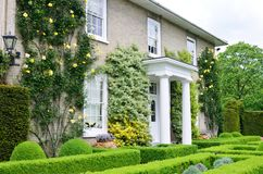 Traditional victorian english country house Stock Photography
