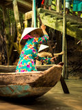 Traditional Vietnam boat Royalty Free Stock Photos