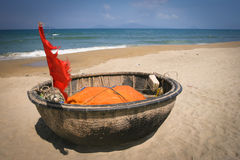 Traditional Vietnamese boat, Vietnam Stock Images