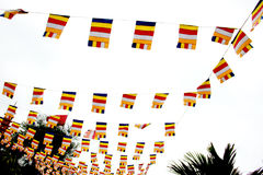Traditional Vietnamese Flags Royalty Free Stock Photos