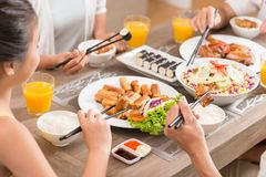 Traditional Vietnamese Food Stock Images