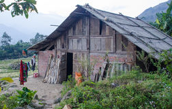Traditional Vietnamese Homestay. In Sa Pa, Vietnam Stock Images