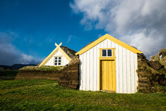 Traditional viking house in iceland stock photo image for Earth covered homes