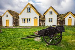 Traditional viking house Royalty Free Stock Photography