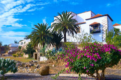 Traditional villa in Betancuria, Canary islands, Spain Stock Photo