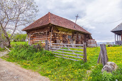 Traditional Village Building from the mountains of Trasylvania Royalty Free Stock Photography