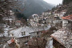 Traditional village in Bulgaria Royalty Free Stock Photos