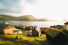 A traditional village in the Faroe Islands