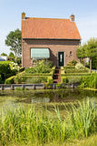 Traditional village house in Holland Stock Images