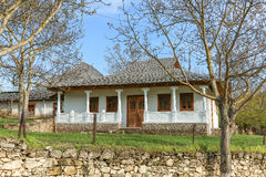 Traditional village house in Moldova Royalty Free Stock Photo