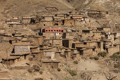 Traditional Village In Atlas Mountains Royalty Free Stock Image
