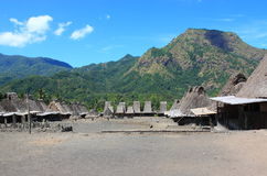 Traditional village Indonesia Royalty Free Stock Image