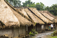 Traditional village on the island of Lombok Royalty Free Stock Image