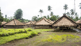 Traditional village on the island of Lombok Royalty Free Stock Images