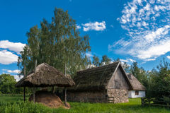 Traditional Village in Poland royalty free stock photos