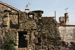 Traditional village in Portugal Stock Photography