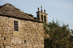 Traditional village in Portugal Stock Photo