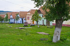 Traditional village in Romania Royalty Free Stock Image