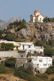 Traditional village of Sellia. Crete. Greece Royalty Free Stock Photography