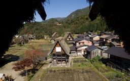 Traditional village, Shirakawa-go, Japan Royalty Free Stock Photos
